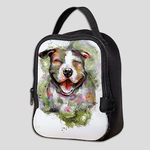 789e699958ed Pitbull Dog Insulated Lunch Bags - CafePress