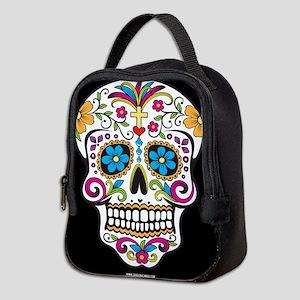Day of The Dead Sugar Skull, Halloween Neoprene Lu