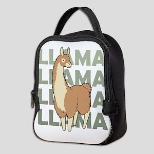 5a4ce6b4d83b Llama Cute Insulated Lunch Bags - CafePress