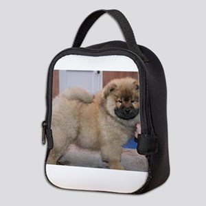 puppy chow chow Neoprene Lunch Bag