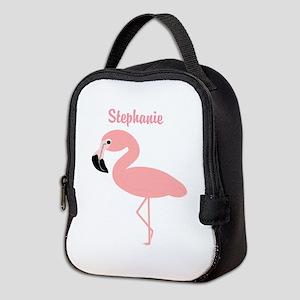 fa9e8fab585a Flamingo Insulated Lunch Bags - CafePress