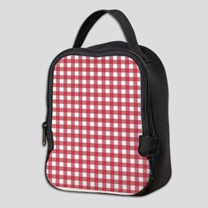 de1596d3c500 Red Square Patterns Insulated Lunch Bags - CafePress