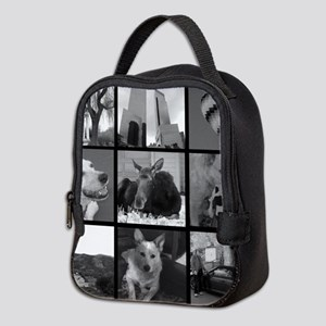 Your Photos Here - Photo Block Neoprene Lunch Bag