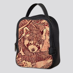 7f98e3dee7e4 Red Panda Bear Insulated Lunch Bags - CafePress
