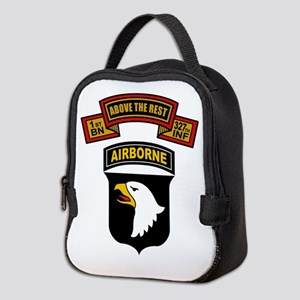 1-327th - 101st Neoprene Lunch Bag
