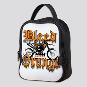 BleedOrange Neoprene Lunch Bag