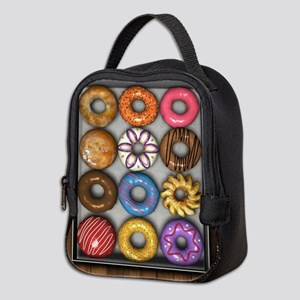 Box of Doughnuts Neoprene Lunch Bag