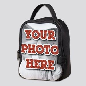 CUSTOM Your Photo Here Neoprene Lunch Bag