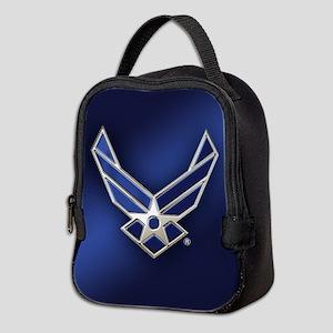 U.S. Air Force Logo Detailed Neoprene Lunch Bag