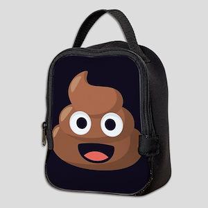 Poop Emoji Neoprene Lunch Bag