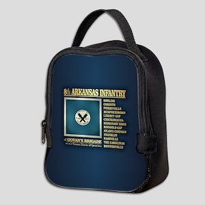 8th Arkansas Infantry (BH2) Neoprene Lunch Bag