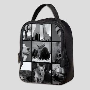 Your Photos Here - Photo Block Neoprene Lunch Bag