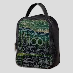 The 100 TV Show Neoprene Lunch Bag