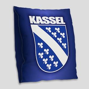 Kassel Burlap Throw Pillow