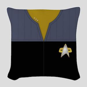 Star Trek DS9 Ops Cmdr Woven Throw Pillow