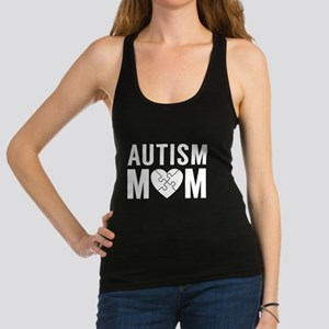 Autism Mom Racerback Tank Top