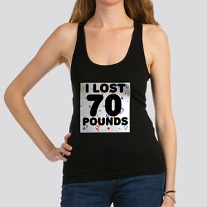70Party.png Racerback Tank Top