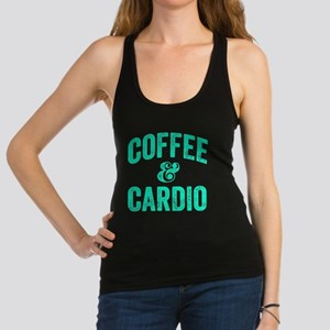 Coffee and Cardio Racerback Tank Top
