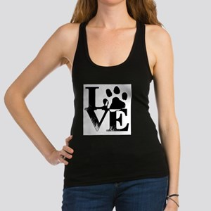 Paws of Love Racerback Tank Top