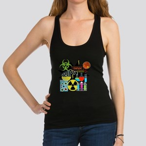 Mad Scientist Racerback Tank Top
