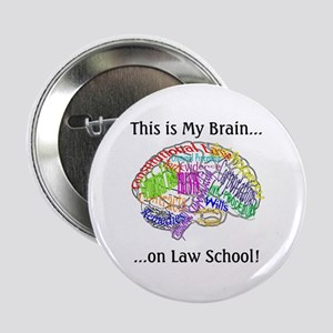 This is my Brain...Law School Button