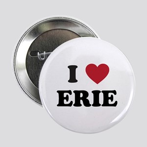 "I Love Erie Pennsylvania 2.25"" Button"