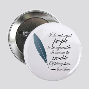 "Austen Agreeable People 2.25"" Button"