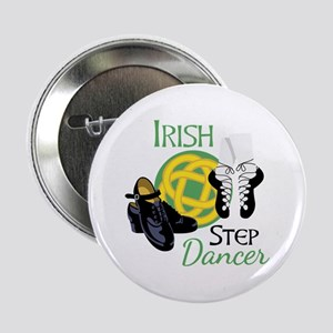 "IRISH STEP Dancer 2.25"" Button"
