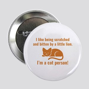 "I'm A Cat Person 2.25"" Button"