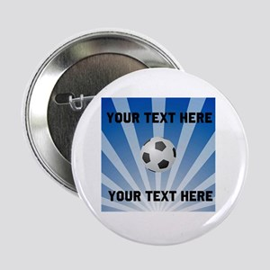 "Personalized Soccer 2.25"" Button"