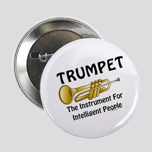 "Trumpet Genius 2.25"" Button"