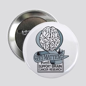 "Grey Matters Support Brain Cancer Research 2.25"" B"