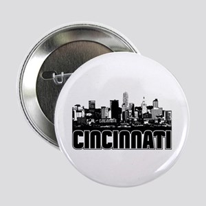 "Cincinnati Skyline 2.25"" Button"