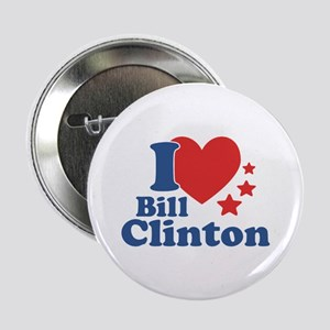 "I Love Bill Clinton 2.25"" Button"