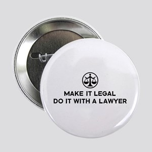 "Funny Lawyer 2.25"" Button"