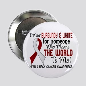 "Head Neck Cancer MeansWorldToMe2 2.25"" Button"