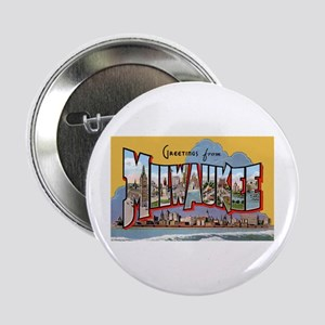 Milwaukee Wisconsin Greetings Button