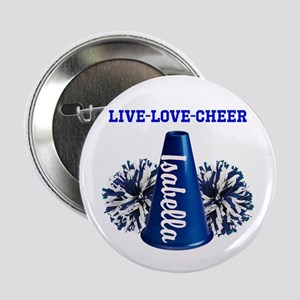 "Cheerleader Personalize 2.25"" Button"