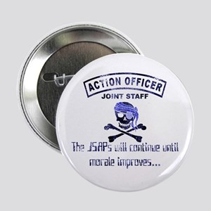 "Exclusive Action Officer Gear 2.25"" Button"