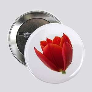 "Red Tulip 2.25"" Button"