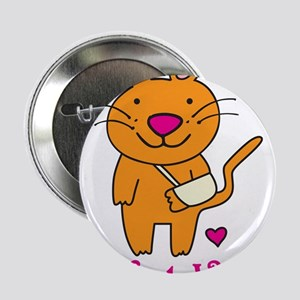 "Cat Vet 2.25"" Button"