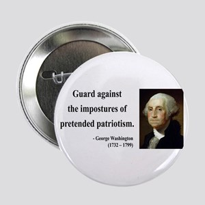 "George Washington 17 2.25"" Button"