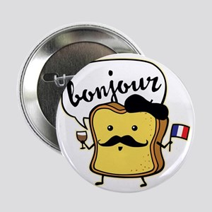 "French Toast 2.25"" Button"