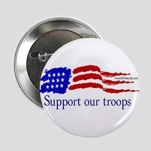 American Flag/Support Troops Button