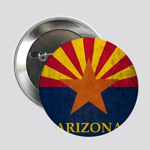 "Grunge Arizona Flag 2.25"" Button"
