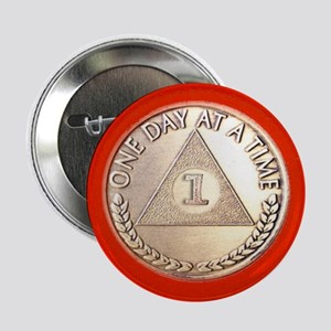 "AA One Year Chip 2.25"" Button"
