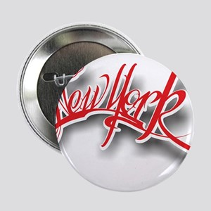 "New York ink 2.25"" Button"