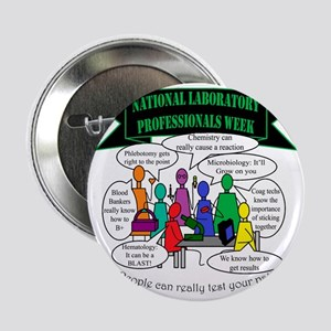 Medical Laboratory Technologist Buttons - CafePress