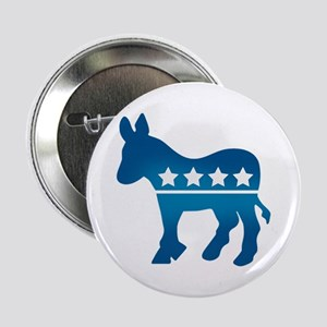 "Democrats Donkey 2.25"" Button"