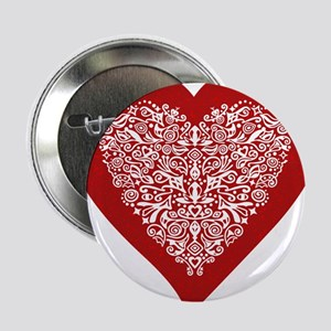 Heart Shaped Buttons - CafePress